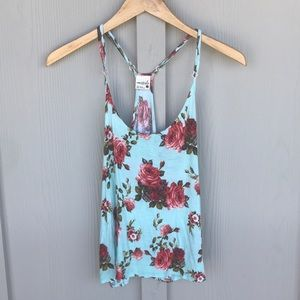 Tilly's Sexy Floral Tank Top
